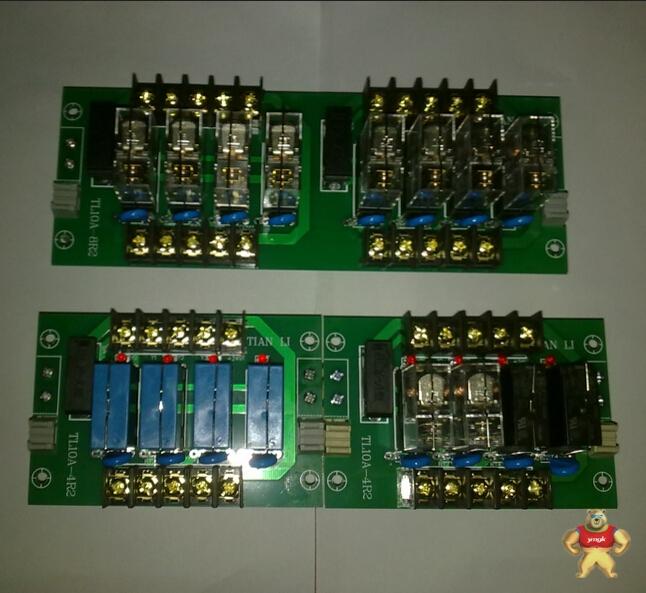 plc 信号放大板 8路泰科继电器10a放大板 晶体管放大板