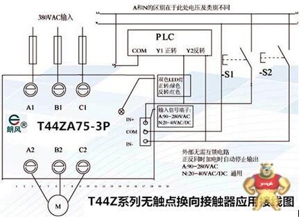 行车接触器接线图
