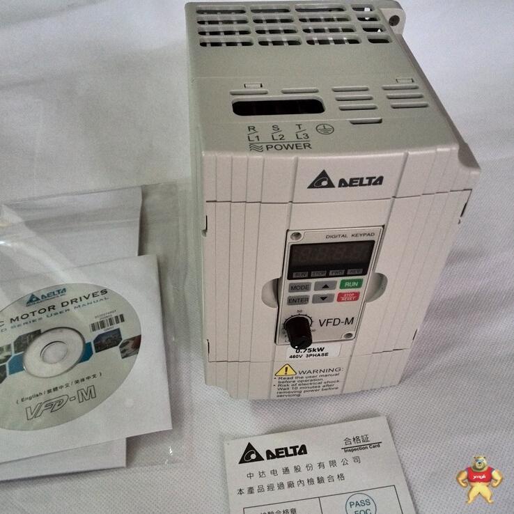 台达变频器vfd007m43b