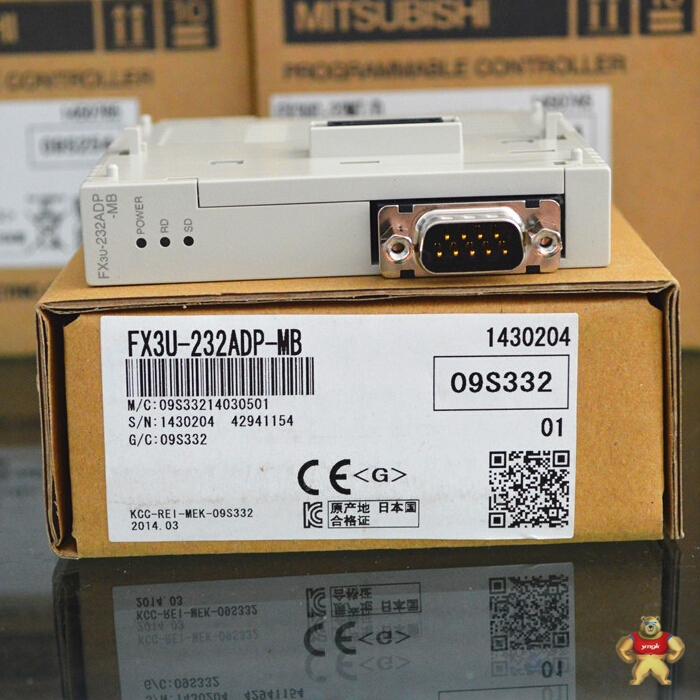 三菱plc扩展模块fx3u-232adp-mb