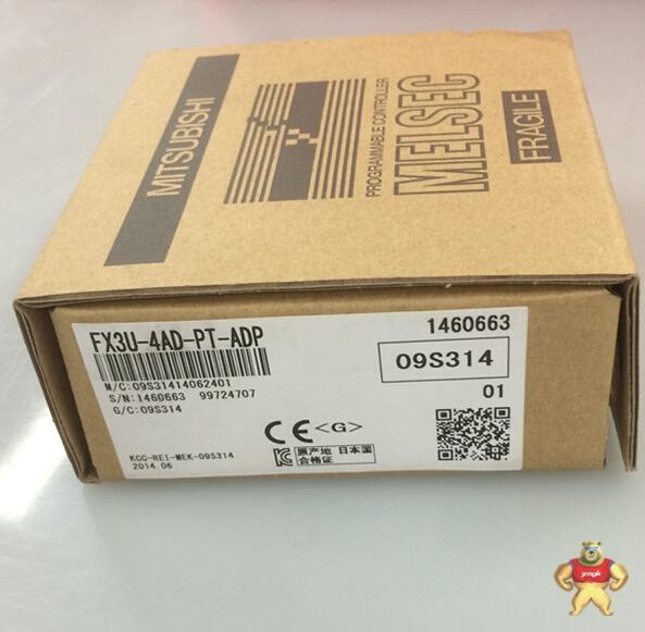 三菱plc模块特殊适配器fx3u-4ad-pt-adp价格