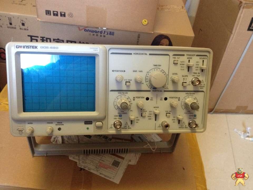 gos-620频宽双通道模拟示波器