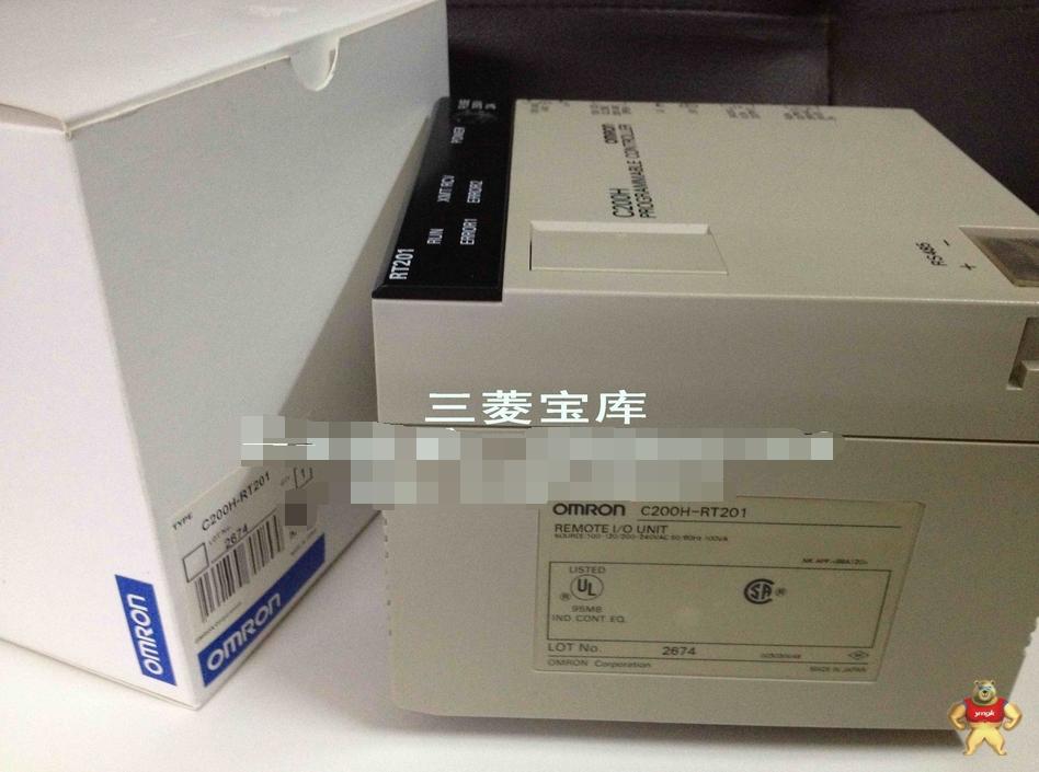 欧姆龙c200h-rt201远程从站模块;全新包装价格