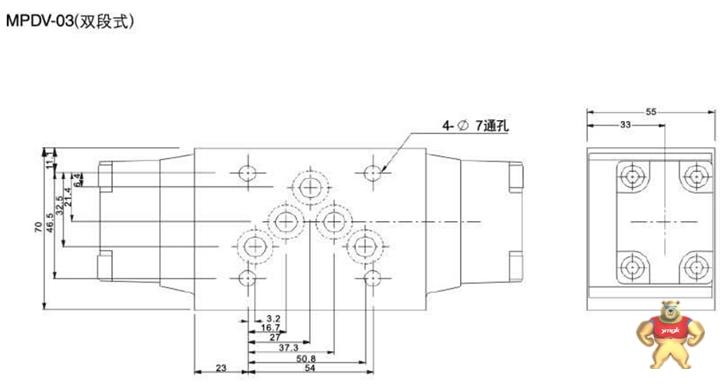叠加液控单向阀mpw-04-a图片