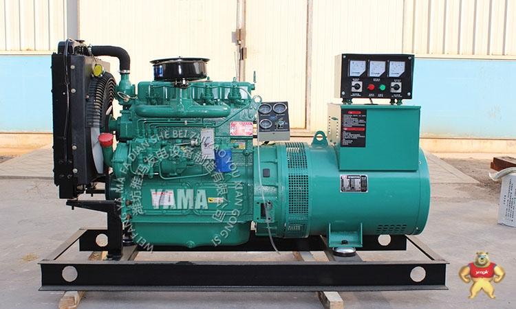 dc12v电启动 转 速:1500rpm 发电机技术参数: 品牌/产地:潍坊雅玛发电