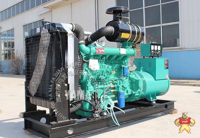 山东潍坊120kw柴油发电机组 六缸水冷三相全铜有刷发电机 备用电源