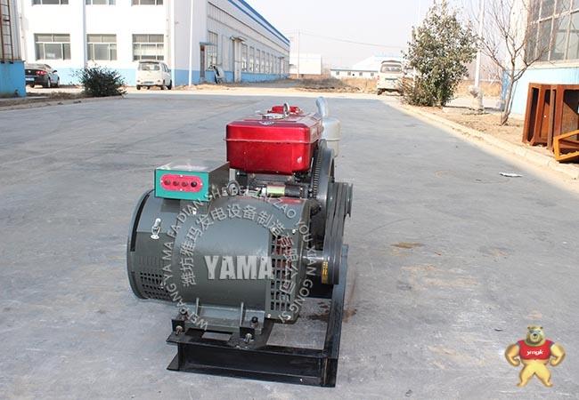 15kw千瓦柴油发电机组 22马力常州常佳单缸发电机 小型家用发电