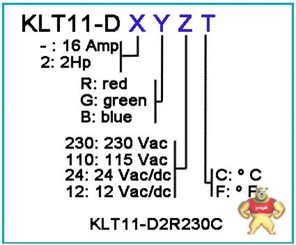 keld(凯德)温控器klt11